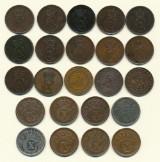 Danmark samling 5 ører 1874-1921