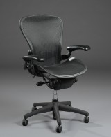 Donald Chadwick & William Stump. Office chair with multiple adjustments, model Aeron