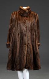 Alexandra Saga royal coat, female scanglow mink, approx. 40-42