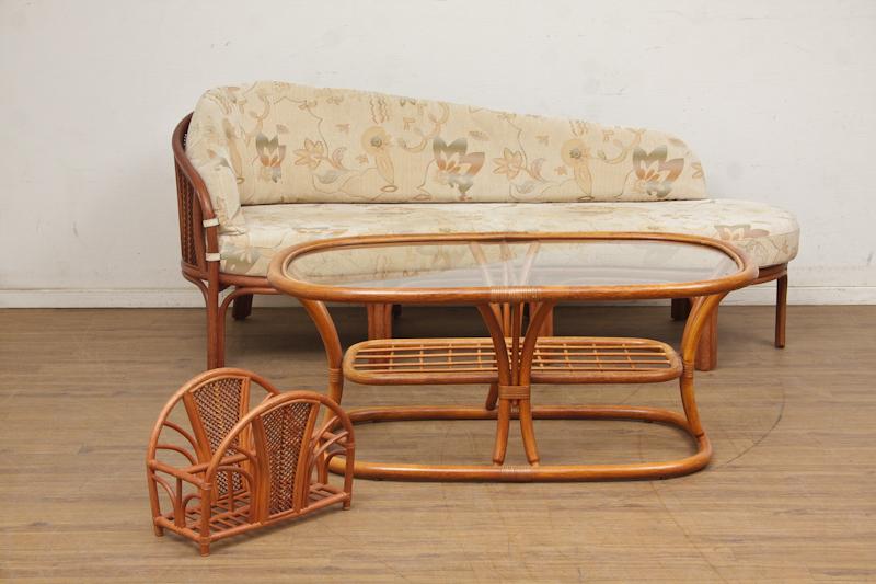 Manilla møbler / udestuemøbler af bambus (3) | Lauritz.com