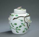 Marieberg potpourri pot, faience, 18th century