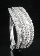 18kt. diamond ring approx. 0.85ct