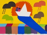 Kristian Devantier (f. 1971) litografi - Til fordel for AIDS-Fondet