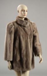 Randers Pels, jakke i safir fave