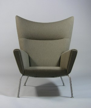 m bel hans wegner wing chair ch 445 de hamburg gro e elbstra e. Black Bedroom Furniture Sets. Home Design Ideas