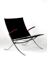 Fabricius & Kastholm, lounge chair, FK 82 'X-Chair'