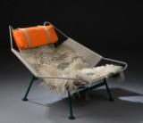 Hans J. Wegner. Lounge chair, Flag Halyard Chair, model PP-225