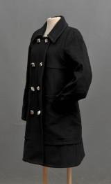 Marc Jacobs. Jacka i svart filt