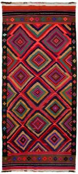 Persisk Harsin kelim 345 x 157 cm