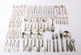 Frigast 'Rigsmønster', silver flatware (75)