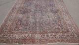 Persisk semiantik handknuten matta, 501 x 358 cm