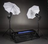 Bowens lampesæt med stativer inkl. baggrunds stativ. (3)