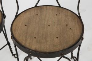 Paar Stühle, Metalldrahtgestell, wohl amerikanisches Design um 1900 ...