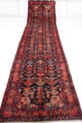 Orientmatta, handknuten, Nahavand, 500x115 cm