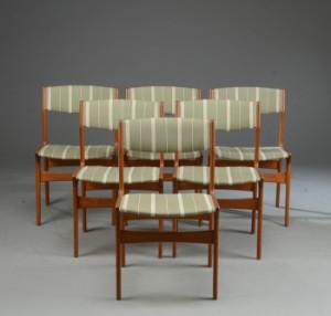 nova møbler Nova Møbler: Seks stole af teak, 1960/70'erne (6) | Lauritz.com nova møbler