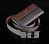 Armani og Gucci. Tegnebog og bælte (2)