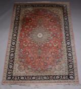 Persisk Tabriz tæppe, 305x195 cm.