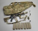 Hardball gevær Stag Arms Model Stag-15 med magasiner og foderal