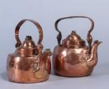 Kaffepannor, koppar, 1800-talets första del (2)