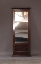 Spejl af mahogni