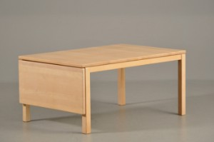sofabord bøg Gangsø sofabord af lakeret bøg med klap | Lauritz.com sofabord bøg