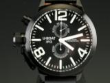 U-BOAT IFO herrearmbåndsur af stål, limited edition