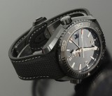 Omega Seamaster Planet Ocean Co-Axial Master Chronometer GMT Deep Black
