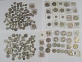 Hele verden sølvmønter