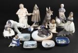Kgl, B&G, figurer m.m., porcelæn (17)