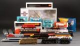 Samling modeljernbane/lokomotiver m.m.