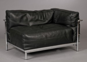 furniture le corbusier lounge chair lc3 meridienne from cassina dk herlev. Black Bedroom Furniture Sets. Home Design Ideas