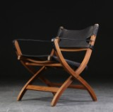 Poul Hundevad. Safaristol / klapstol, Campaign Chair, model PH 70