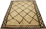 Hand-knotted Moraccan rug, 203 x 153 cm