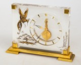 Table clock, Marina, Jaeger le Coultre