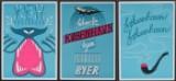 Tre plakater med tekst om København (3)