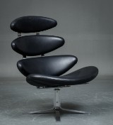 Poul M. Volther. 'Corona' lounge chair Model EJ5