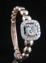 14kt diamond ring approx. 0.40ct