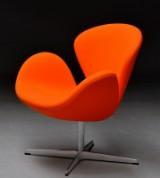 Arne Jacobsen. The Swan easy chair, model 3320, from 2017