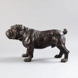 Bulldogskulptur