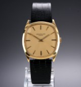 Patek Philippe 'Golden Ellipse'. Vintage men's watch in 18 kt. gold, c. 1969