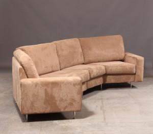 Sofa Alcantara skalma personers sofa med alcantara betræk lauritz com
