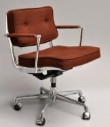 Charles & Ray Eames.  'Intermediate Swivel Arm Chair'
