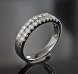 Diamond ring, approx. 0.48 ct.