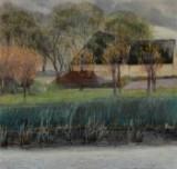 L.A. Ring, oil on canvas, 'Fra Baldersbrønde', cd