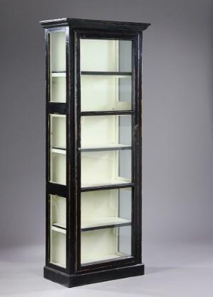 glasskab Sort glasskab i fransk landstil | Lauritz.com glasskab