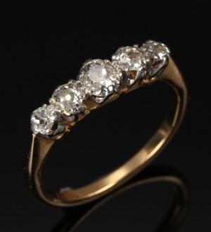 vintage diamantring