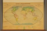 Skolekort over verdens klima- og plantebælter, 1951.