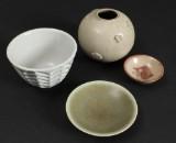 Arne Bang. m.fl Vase og skåle (4)