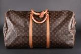Louis Vuitton. Weekend / rejsetaske. Monogram canvas. Model Keepall 60