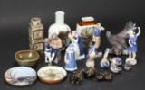 Kgl. og B&G. Samling figurer, vaser m.m. (20)
